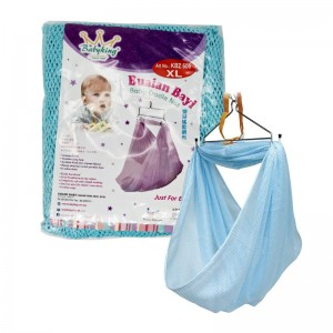 BABY KING KBZ606 Sarang Bayi/Baby Cradle Net (With Head Cover)(Size XL-Up to 18kg)